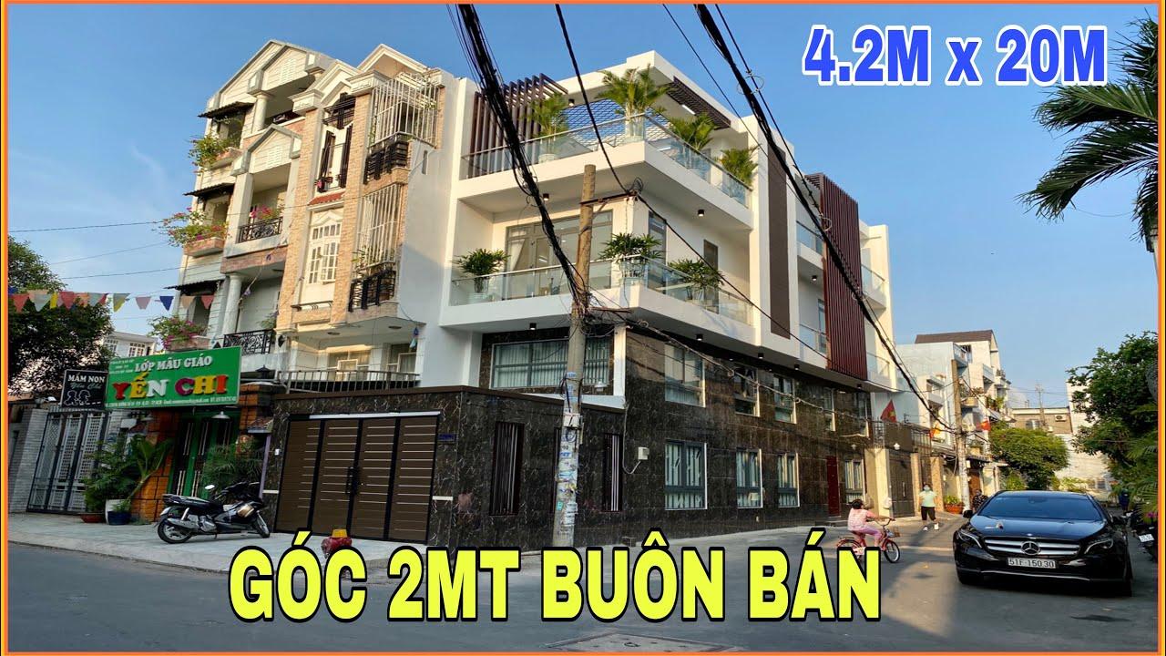Bán nhà Gò Vấp |311] 4.2m x 20m Nhà Góc 2 Mặt Tiền Đường Kinh Doanh thiết kế tuyệt đẹp giá rẻ bèo