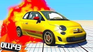 FIAT 500 DESTRUCTION!! (BeamNG Drive Stress Test!)
