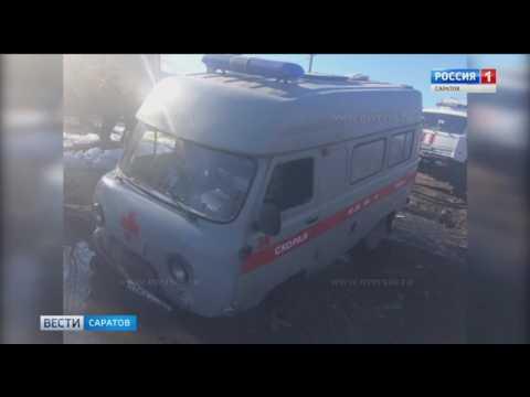 Машина скорой помощи с пациенткой в салоне застряла в грязи