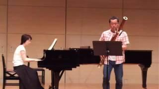 【ファゴット、ピアノ】Sonatine-tango Pierre Max Dubois ソナチネタンゴ : デュボワ