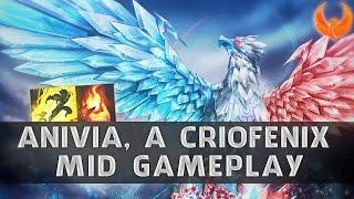 League of Legends - ANIVIA MID PÓS UPDATE GAMEPLAY - INSTAKILL EM 2 SKILLS!