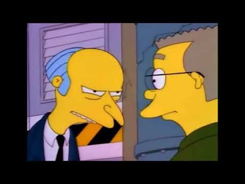 The Simpsons - Mr Burns Toxic Waste Dumping
