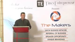 Networking Meet The Makers Times Entrepreneur Vikas Bagaria Founder Safety Kart