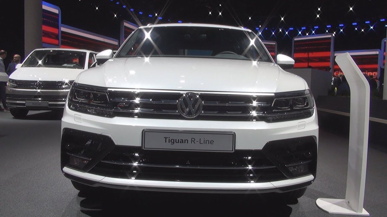 volkswagen tiguan r line 2 0 tdi 176 kw 2018 exterior. Black Bedroom Furniture Sets. Home Design Ideas