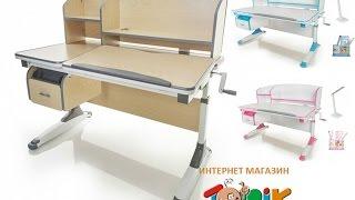 видео Письменный стол для школьника Pondi Понди Эргономик с тумбой купить Киев