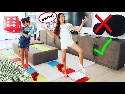 GIANT Board Game Challenge! | Emily And Evelyn