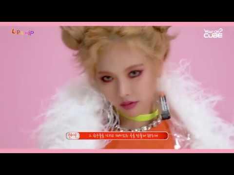 HyunA(현아) - 'Lip & Hip' M/V 촬영 현장 비하인드 Part 1 (M/V making behind part 1)