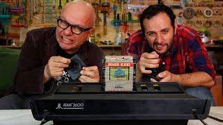 O que tem dentro de um Atari ft. MARCELO TAS #OQueTemDentro 🔵Manual do Mundo