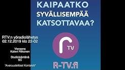 RTV yöradio 021219 - vieraana Kalevi Riikonen