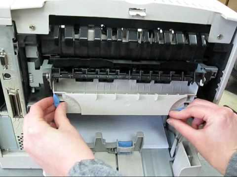 HP LASERJET PRINTER 4100 MAINTENANCE KIT C8057A Instruction