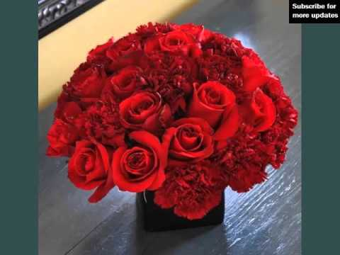 pretty and lovely flower pictures red carnation centerpieces youtube