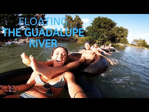 FLOATING The Guadalupe RIVER, Texas