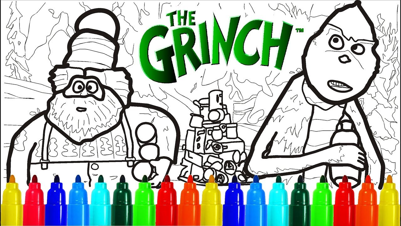Illumination The Grinch Coloring Pages | Colouring Pages ...