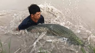 Top 3 Cast Net Fishing For HUGE Fish!