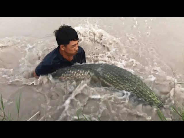 Top 3 Cast Net Fishing River Monsters for World Record!