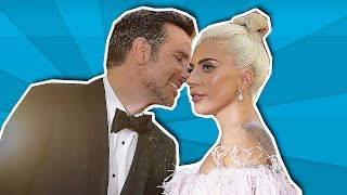 Lady Gaga & Bradley Cooper Can't Hide Their Affection