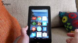 "Amazon Fire 7"" - Instalar Nova Launcher"
