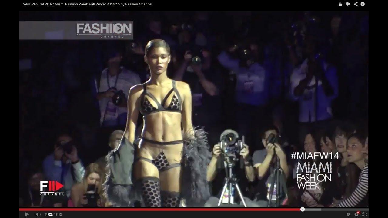 """ANDRES SARDA'"" Miami Fashion Week Fall Winter 2014/15 by Fashion Channel"
