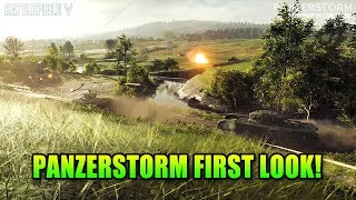 PanzerStorm Map & Vickers First Look! - Battlefield V Dev Talk & More