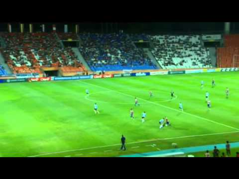 Volley in off the post for Paraguay U20s v Argentina!