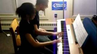 Jay Chou - Secret piano duet FT. KYLE LANDRY :D :D :D