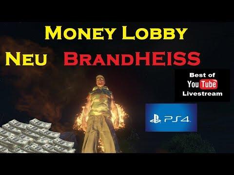 GTA 5 Online - Neu Brandheiß - Money Lobby - PS4 - Wurde wieder von R* GELÖSCHT