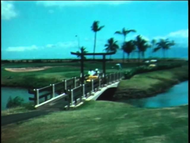 Golf in Ka'anapali, Maui in 1964