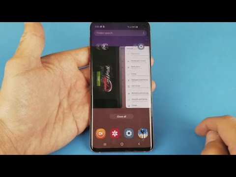 Galaxy S10/S10+/S10E: How To Close Apps All At Once Or One By One