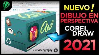 🌟 CONOCE el Nuevo DIBUJO en PERSPECTIVA de CorelDRAW 2021 ▶ DelcaVideography