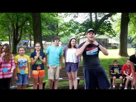 Bazooka Bubble Gum Song @ Camp Luther