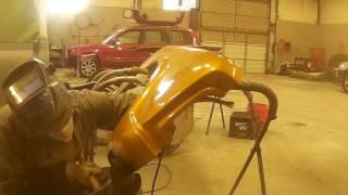 1967 Chevy C10 Fender Rust Repair