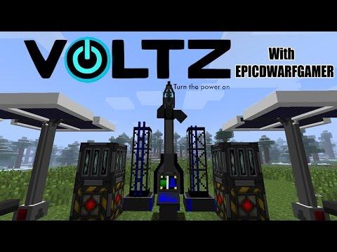 Minecraft: Server Tanıtımı - Voltz(Savaş) Modlu Server!