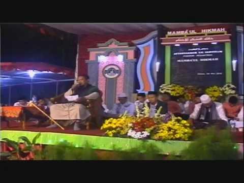 K.H. Muhyidin (Sunan Kali Gawe) Akhirussanah 1437 H / 2016 M Pon. Pest. Mamba'ul Hikmah Magelang
