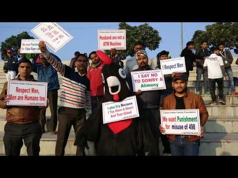 SIFF Awareness Drive at Winter Half Marathon, Delhi on Biased Laws Against Men