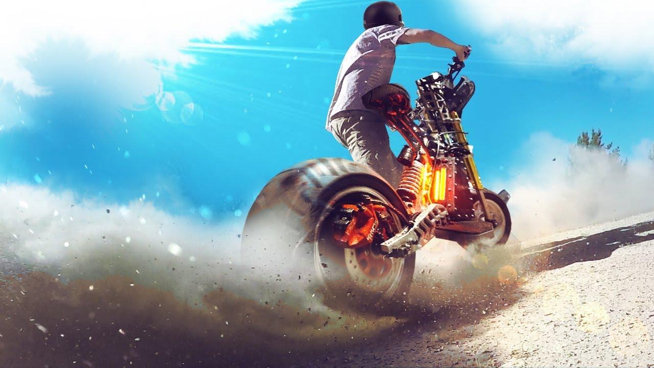 Россия Электро Питбайков! Против Безумного Скутера | мото скутер магазин