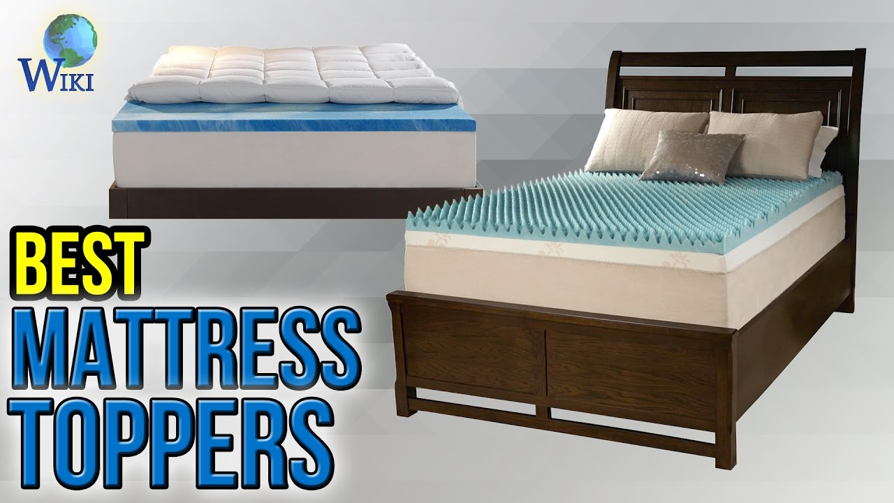 10 best mattress toppers 2017 youtube