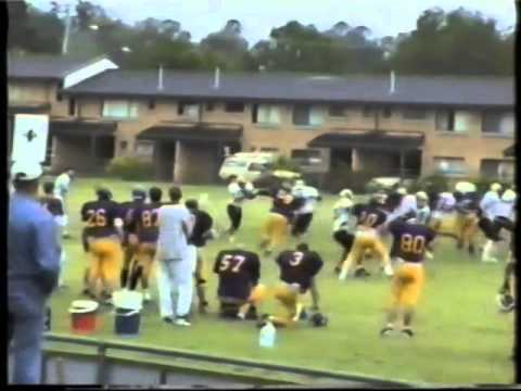 Qld Gridiron Football League Cougars v Pirates 1997