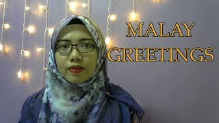 [LEARN MALAY] 04-Malay Greetings 1