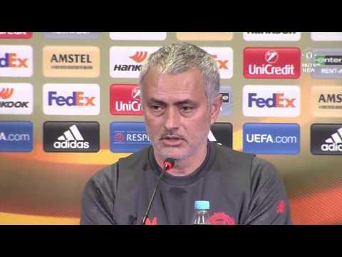 Jose Mourinho & Daley Blind's Pre Match Press Conference   Manchester United vs FC Rostov