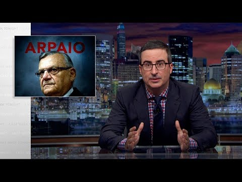 Download Youtube: Joe Arpaio: Last Week Tonight with John Oliver (HBO)