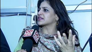 Shazia Ilmi speaks to DD News after joining BJP