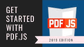 PDF js Tutorial for Dummies! - YouTube