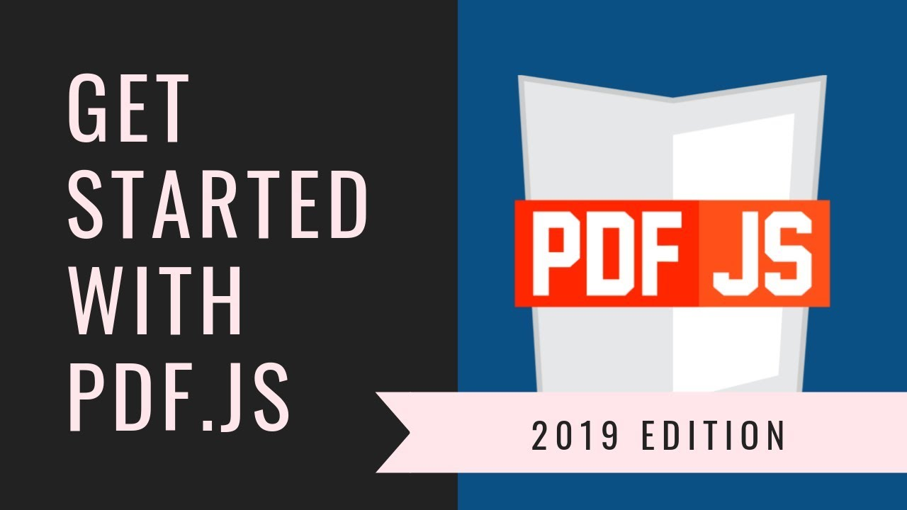 PDF js Tutorial: Render PDF files on HTML5 Canvas