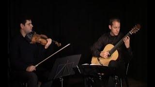 Meditation - J. Massenet (arr. for guitar and violin by Nicolas Kyriakou)