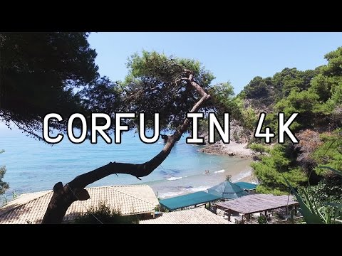 Corfu in 4K - 2016 - Greece