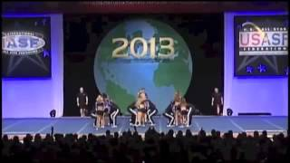 Cheer Athletics Wildcats Worlds 2013