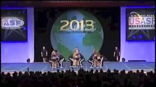 Cheer Athletics Wildcats Worlds 2013
