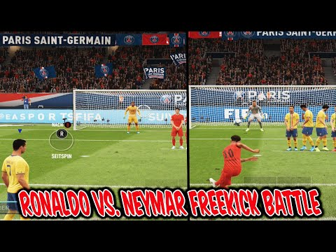 Cristiano RONALDO vs. NEYMAR Freekick Battle! Kranke Freistöße vs. Bruder! – Fifa 20 Ultimate Team