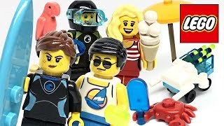 LEGO Summer Celebration Minifigure Pack review! 2019 set 40344!