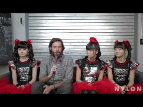 Babymetal Nylon interview (24/9/2015)